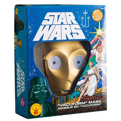Star Wars Retro C-3PO Mask