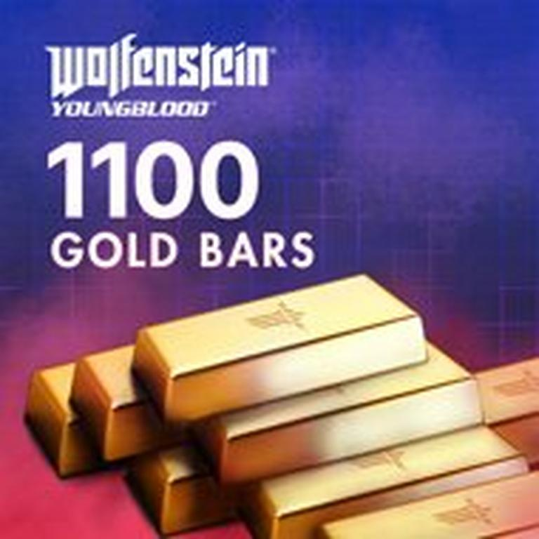 Wolfenstein: Youngblood 1100 Gold Bars