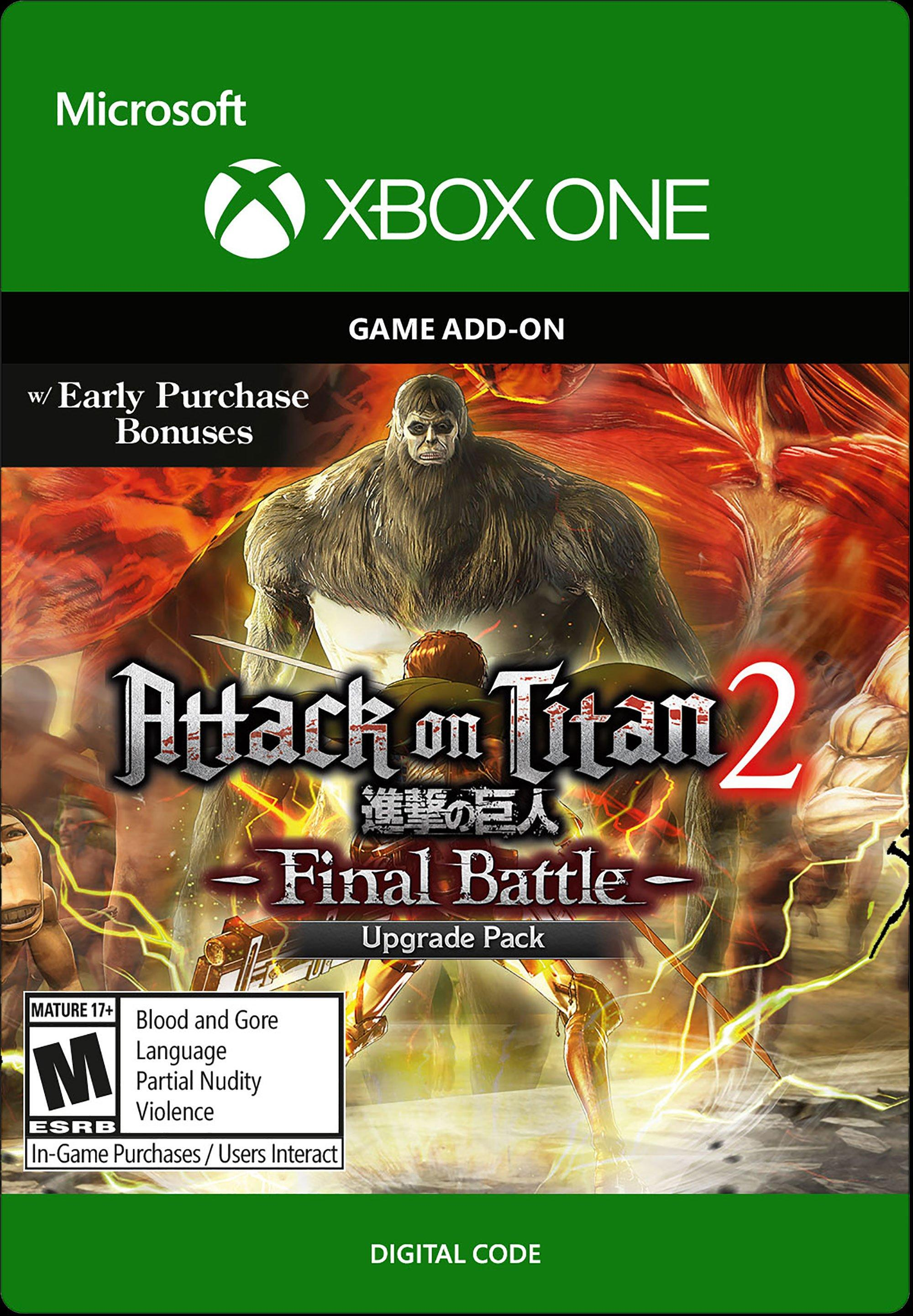 Attack on Titan 2: Final Battle Upgrade Pack | Xbox One ...