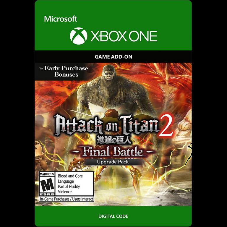 Attack on Titan 2: Final Battle Upgrade Pack