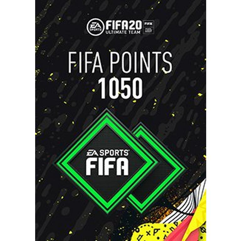 FIFA 20 1050 Ultimate Team Points Digital Card
