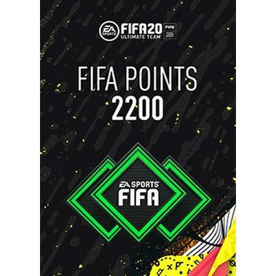 FIFA 20 2200 Ultimate Team Points Digital Card