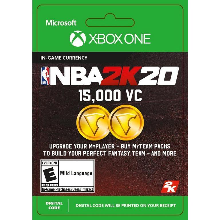 NBA 2K20 15000 Virtual Currency