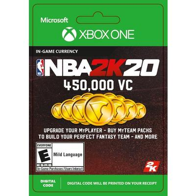 NBA 2K20 450000 Virtual Currency