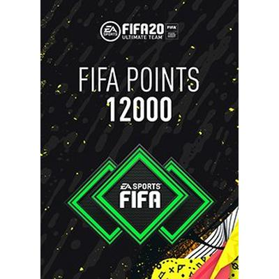 FIFA 20 12000 Ultimate Team Points Digital Card