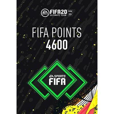 FIFA 20 4600 Ultimate Team Points Digital Card