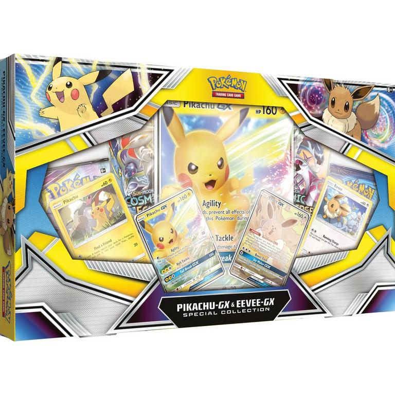 Pokemon Trading Card Game: Pikachu-GX and Eevee-GX Special Collection