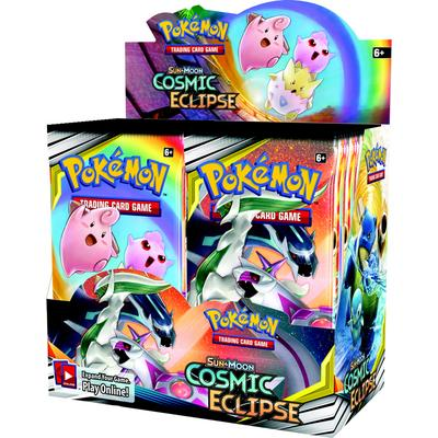 Pokemon Trading Card Game: Cosmic Eclipse Booster Box