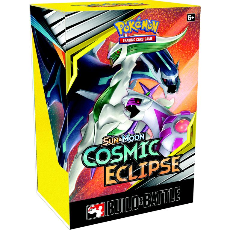 Pokemon Trading Card Game: Sun and Moon Cosmic Eclipse Build and Battle Box
