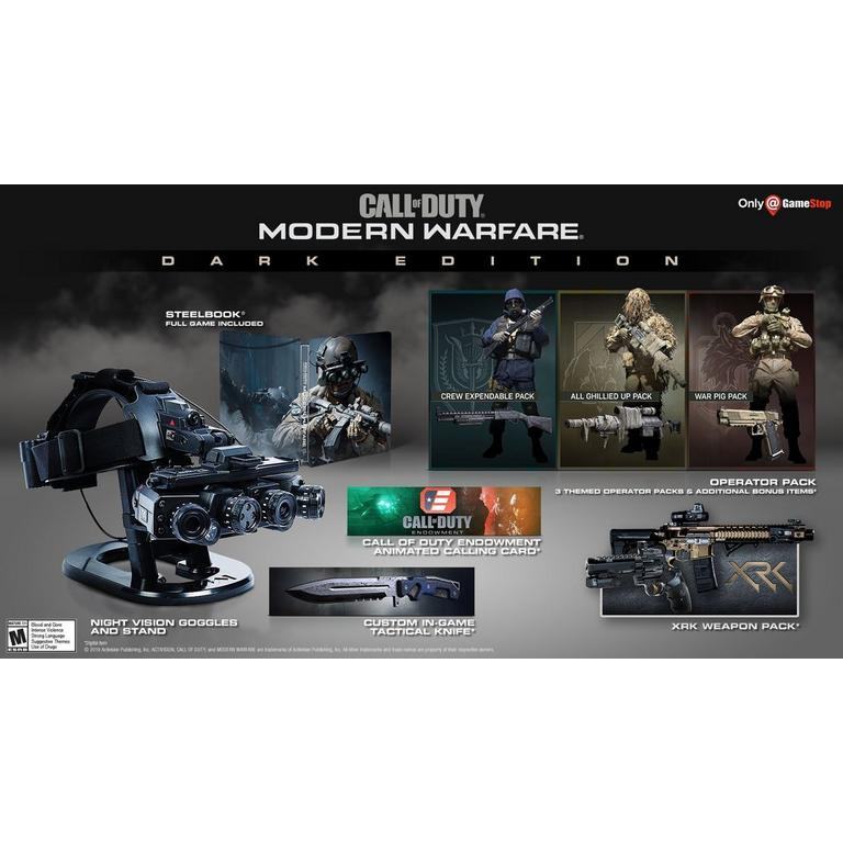 Call of Duty: Modern Warfare Dark Edition - Only at GameStop