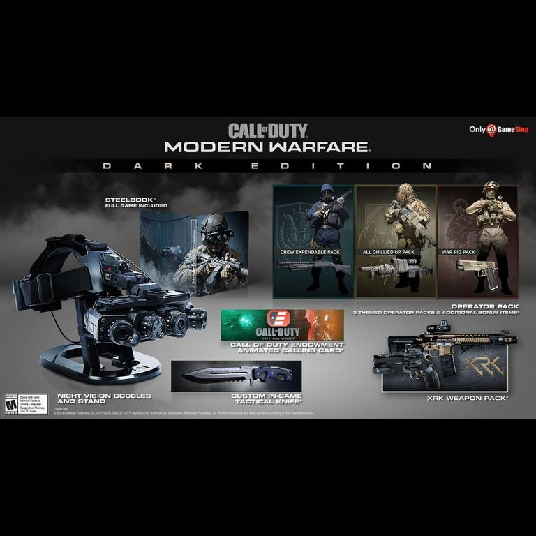 Call of Duty: Modern Warfare Dark Edition Only at GameStop