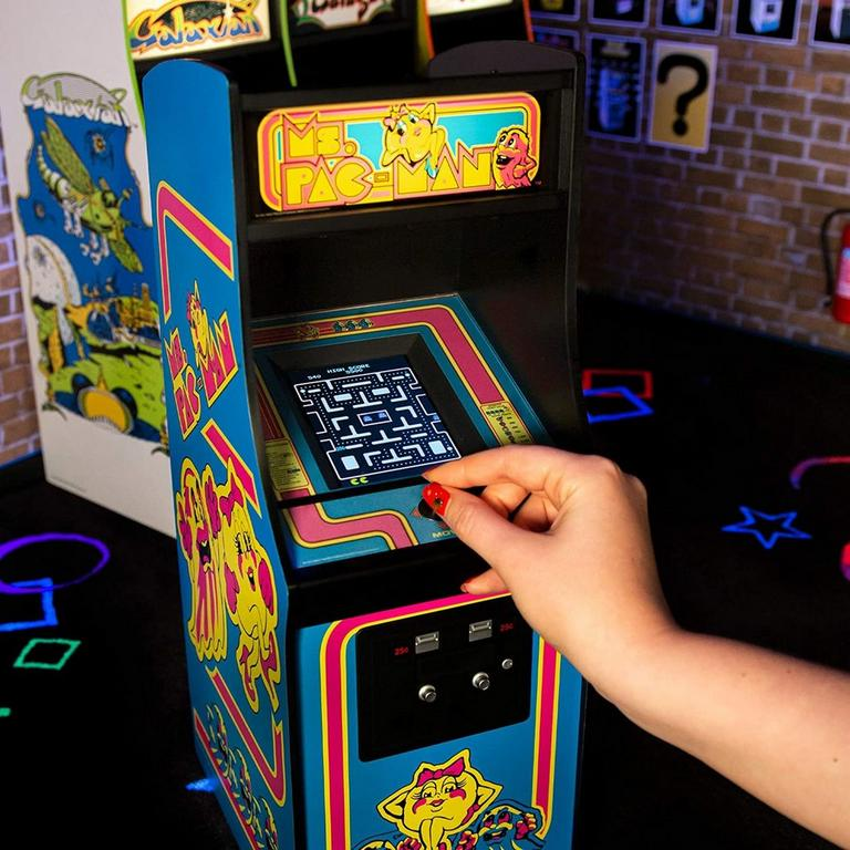 Ms. PAC-MAN Quarter Arcade Mini Cabinet