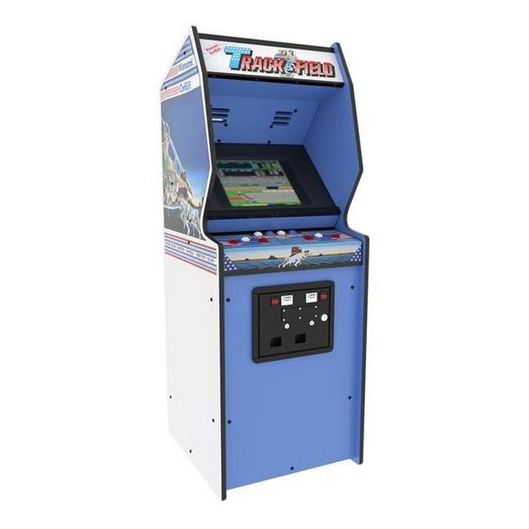 Track and Field Quarter Arcade Mini Cabinet