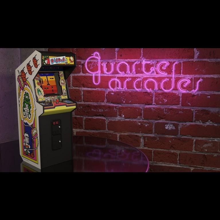 Dig Dug Quarter Arcade Mini Cabinet