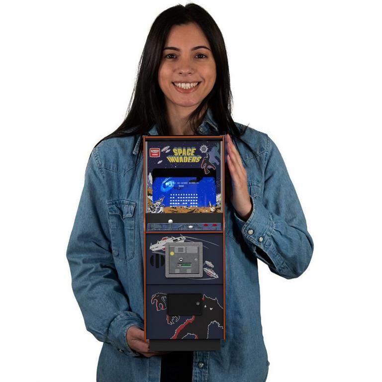 Space Invaders Quarter Arcade Mini Cabinet