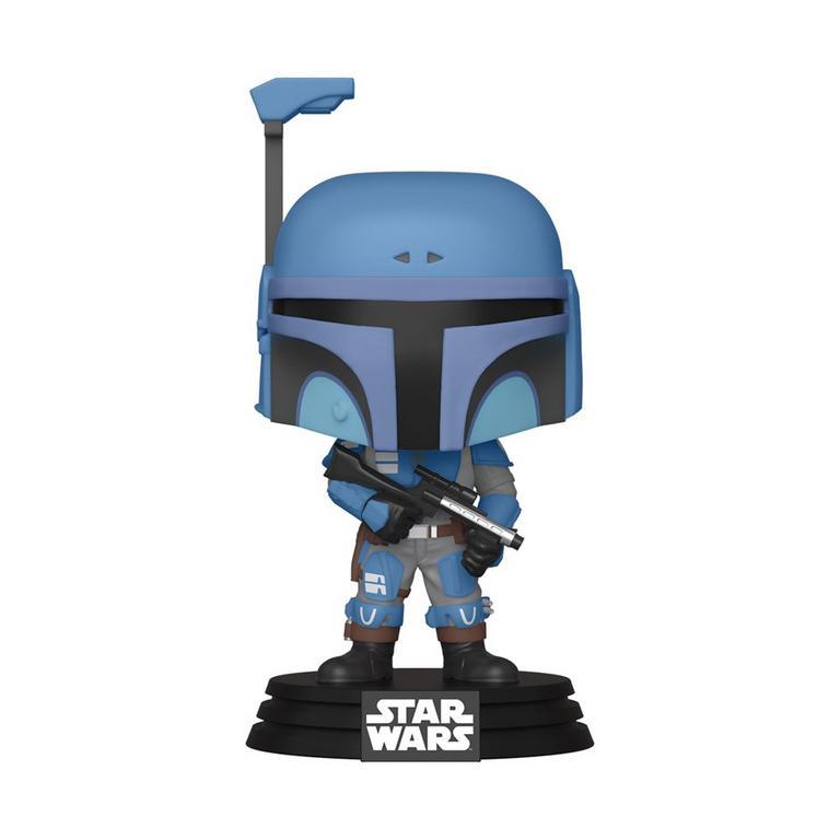 Funko POP! Star Wars: The Mandalorian Death Watch Mandalorian Two Stripes Only at GameStop