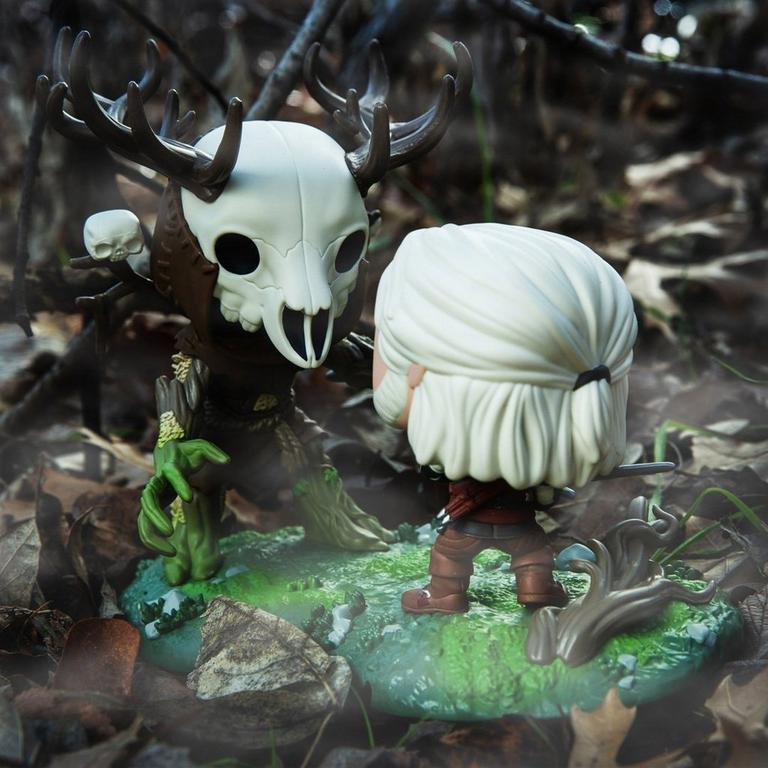 POP! Game Moments: The Witcher III: Wild Hunt Geralt VS. Leshen Only at GameStop