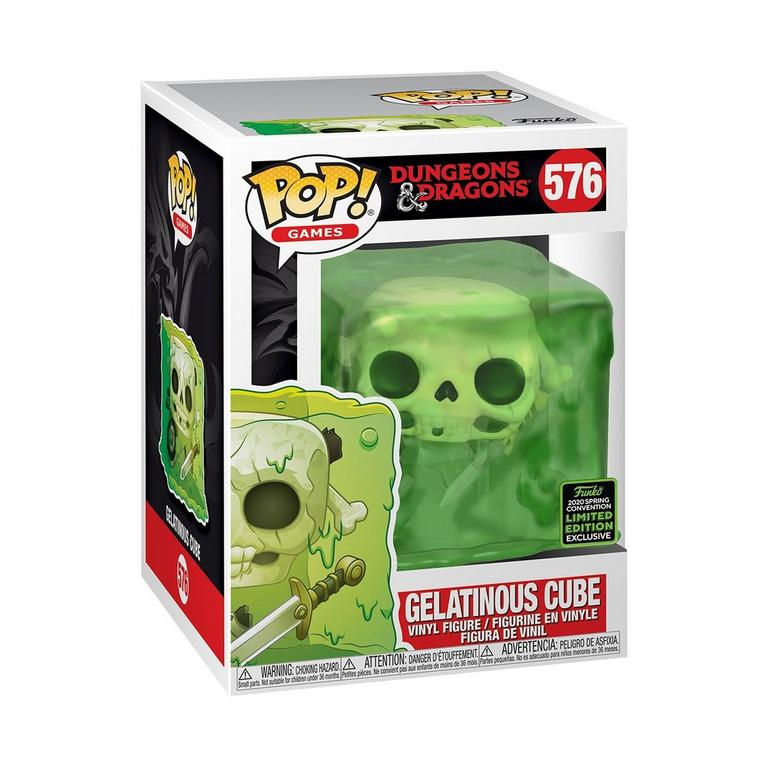 POP! Games: Dungeons and Dragons Gelatinous Cube Spring Convention 2020