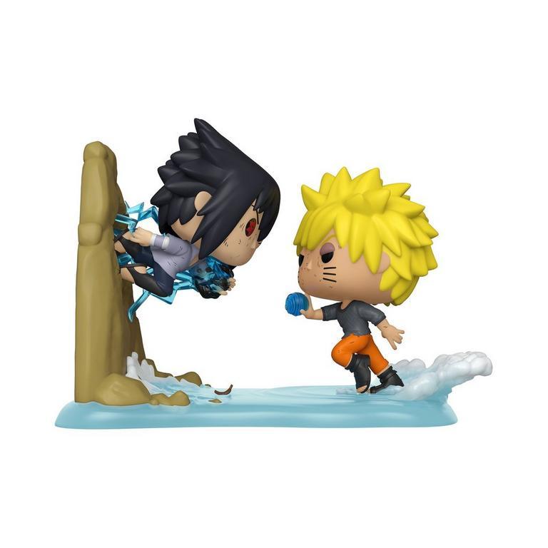 Funko POP! Moments: Naruto Shippuden Naruto VS. Sasuke Only at GameStop