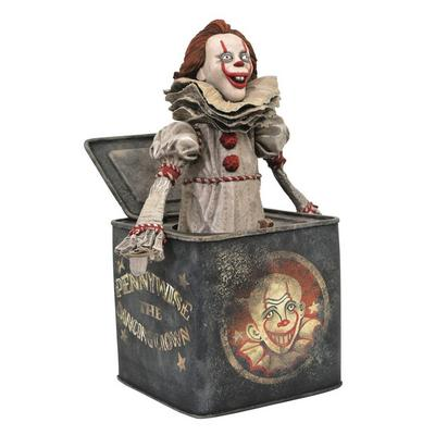 IT Pennywise-in-the-Box Statue