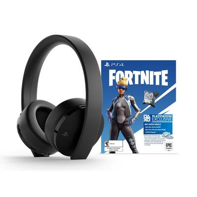 Fortnite Neo Versa Gold Wireless Headset Jet Black