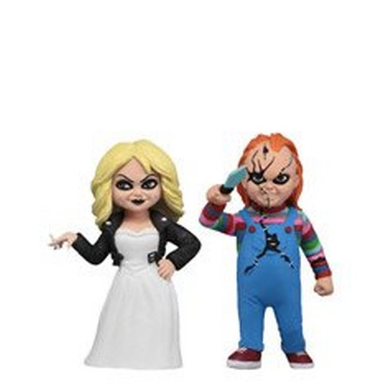 Child's Play Chucky and Tiffany Figures