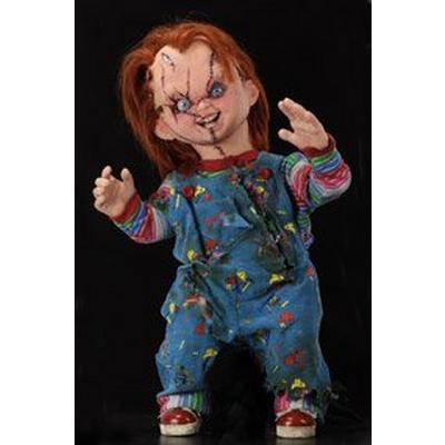 Bride of Chucky Chucky Replica Doll
