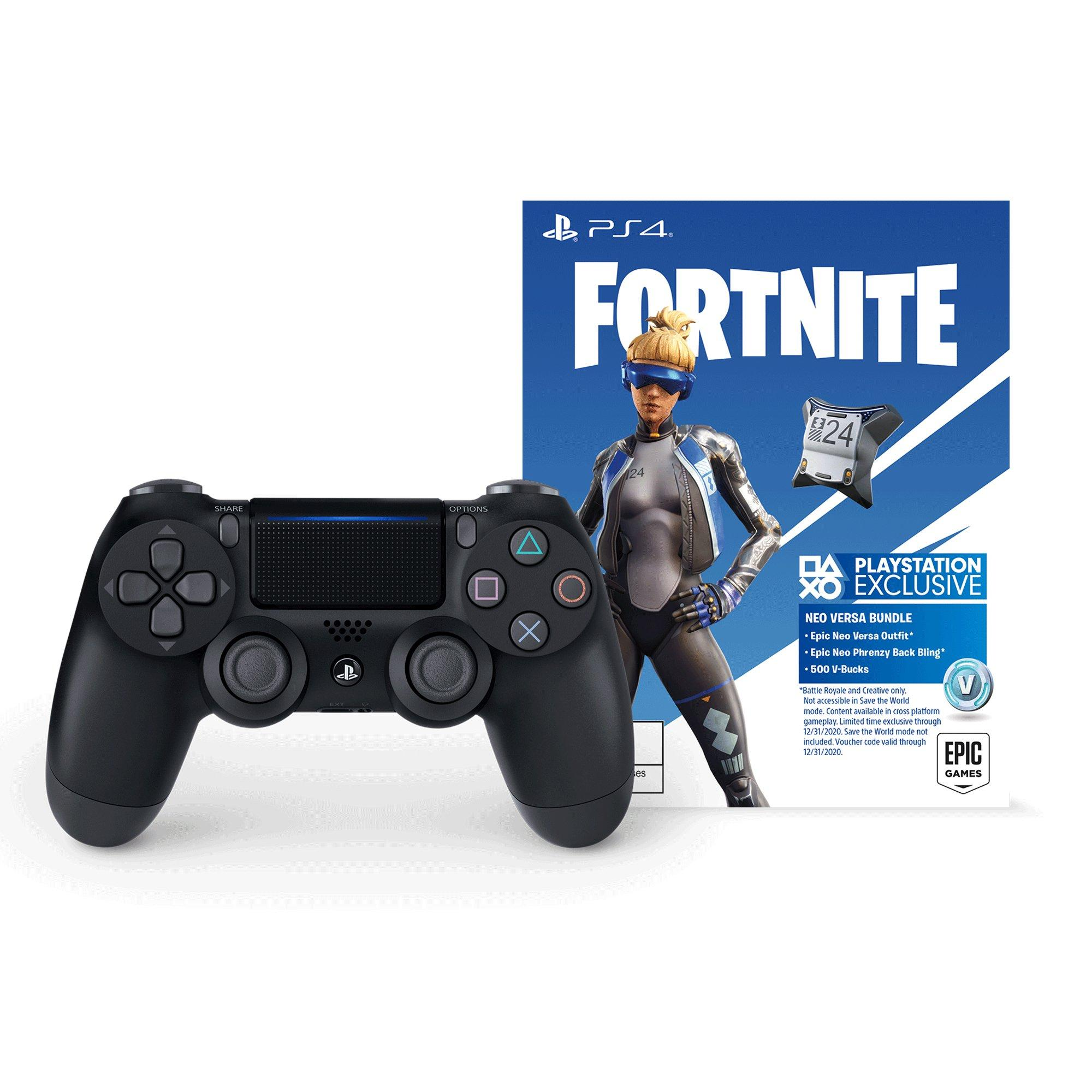 Sony DUALSHOCK 4 Fortnite Neo Versa Wireless Controller Bundle |  PlayStation 4 | GameStop