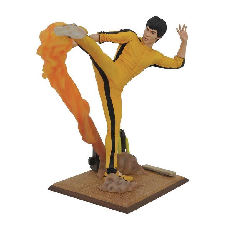 Bruce Lee Kicking Gallery Statue