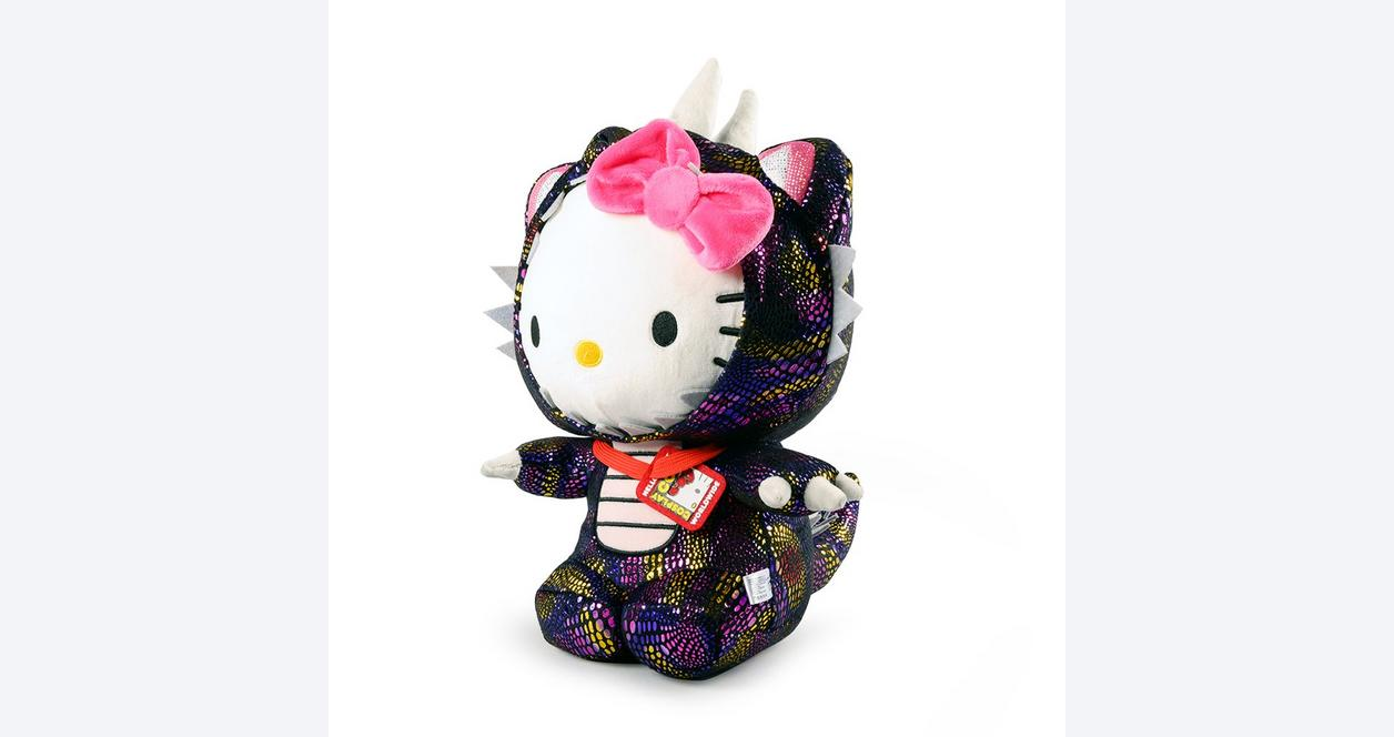 Hello Kitty Kaiju Cosplay Plush