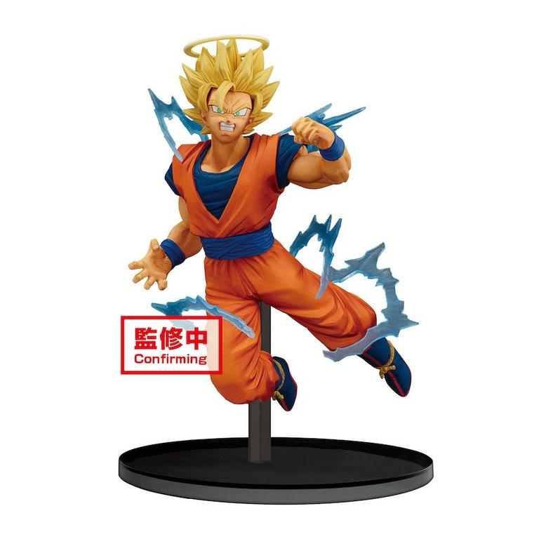Dragon Ball Z Dokkan Battle Super Saiyan 2 Goku Statue Gamestop