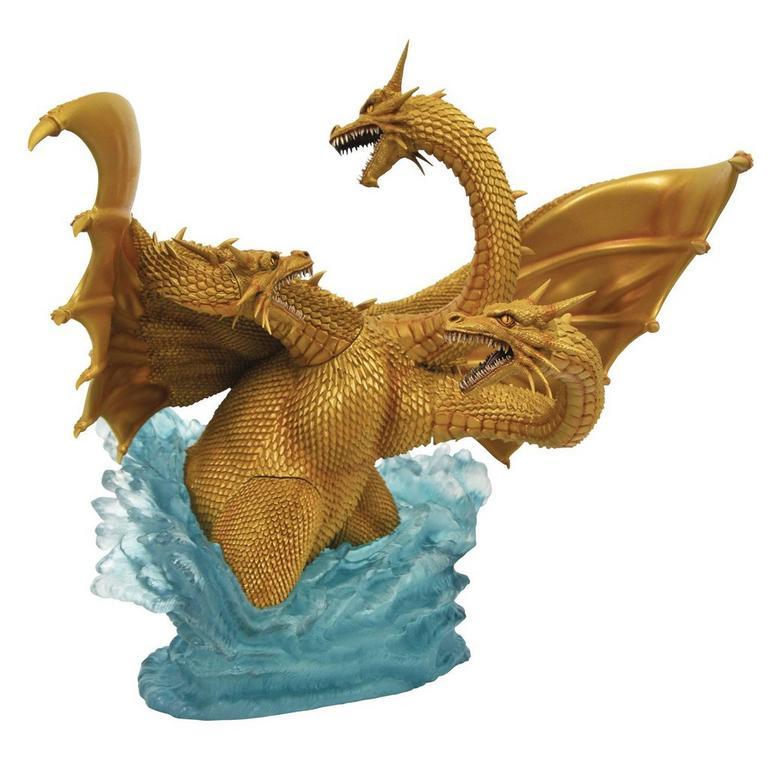 Godzilla 1991 King Ghidorah Godzilla Gallery Statue