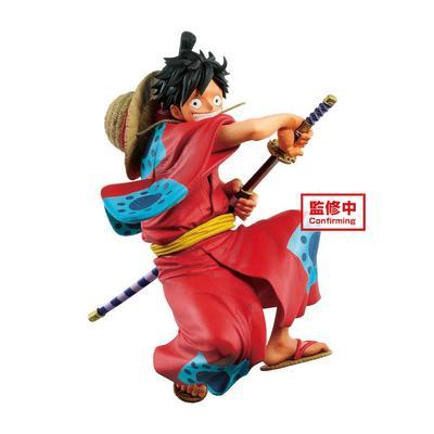 One Piece King of Artist The Monkey D. Luffy Wanokuni Statue