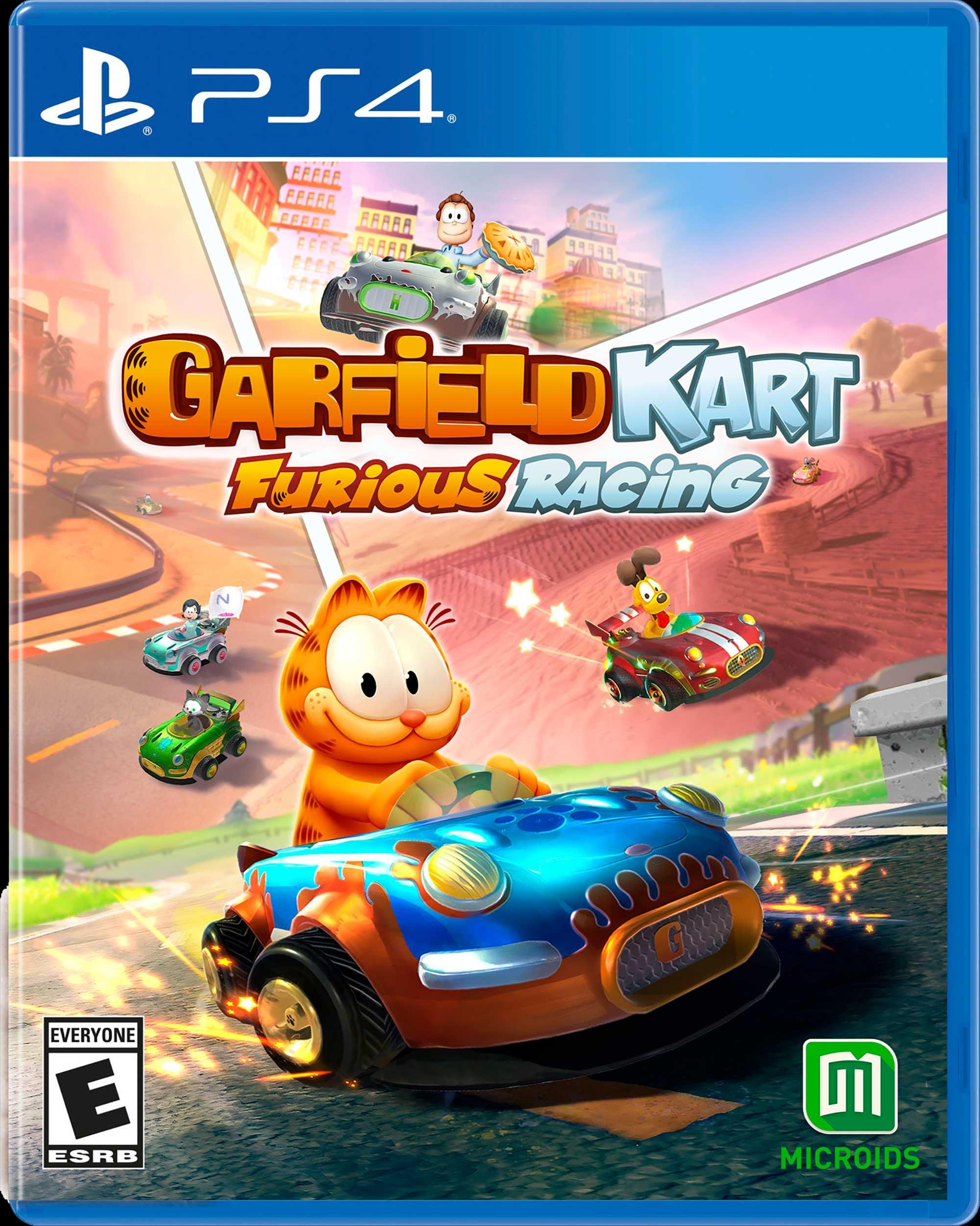 Garfield Kart Furious Racing Playstation 4 Gamestop