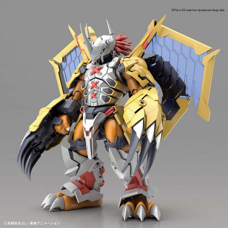 Digimon WarGreymon Amplified Figure-rise Standard Model Kit