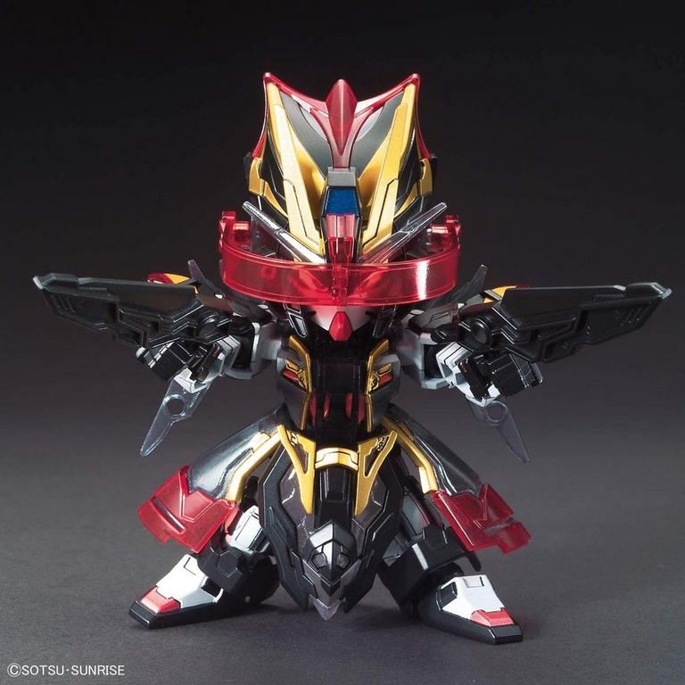 Gundam SD Gundam World Sangoku Soketsuden Xun Yu Strike Noir SD Model Kit