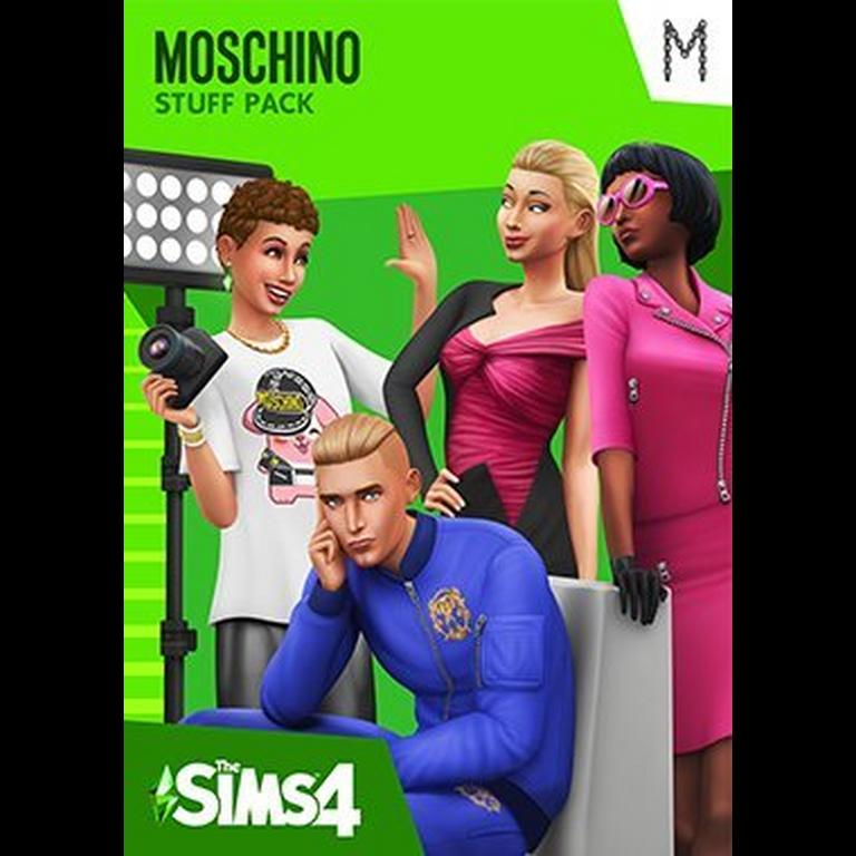 The Sims 4 Moschino Stuff Pack