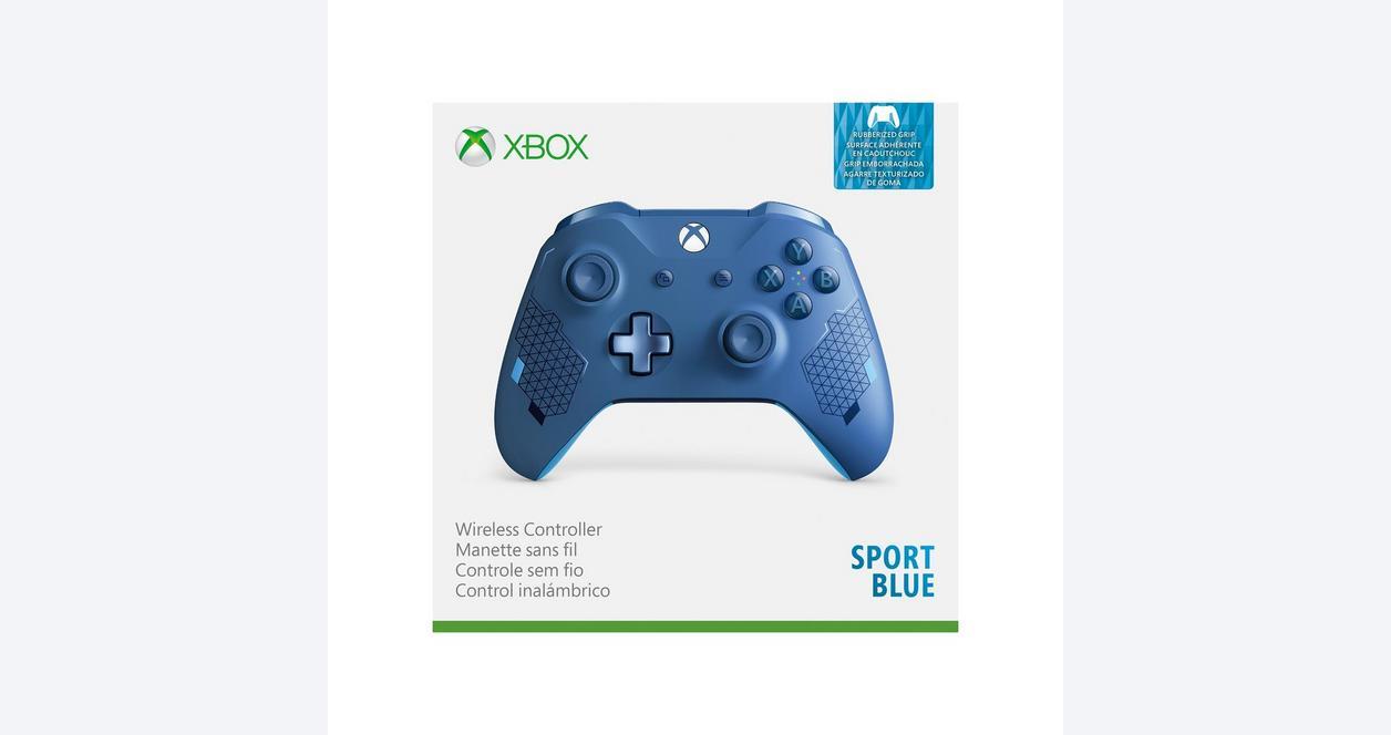 Xbox One Sport Blue Wireless Controller