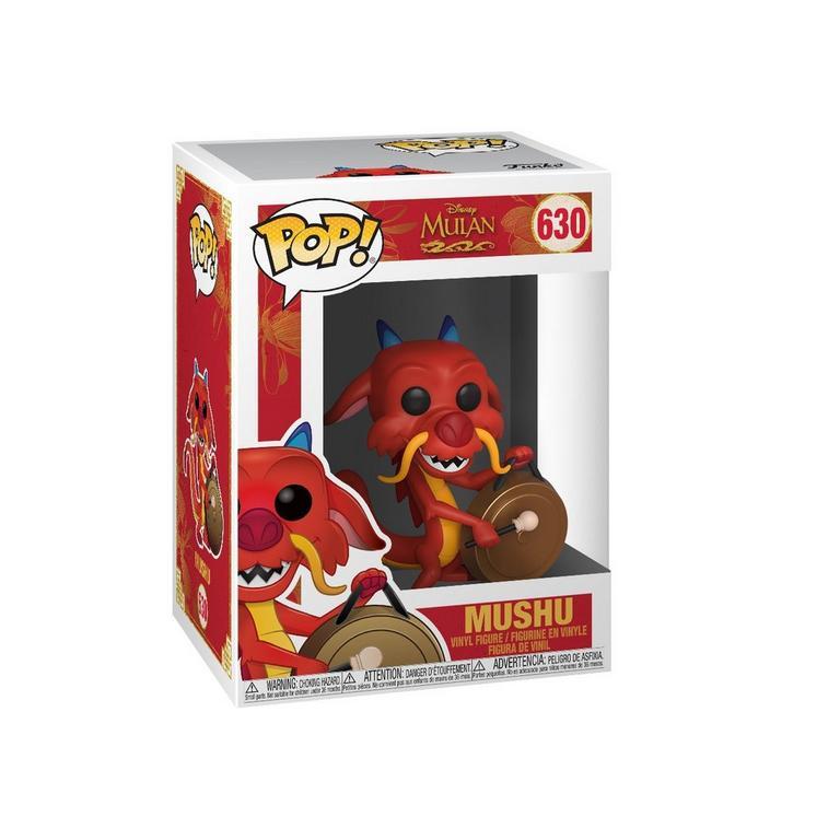 POP! Disney: Mulan Mushu with Gong