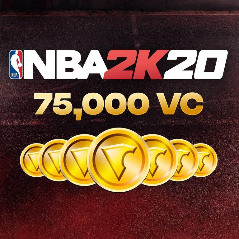 NBA 2K20 75,000 Virtual Currency