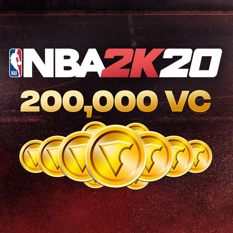 NBA 2K20 200,000 Virtual Currency
