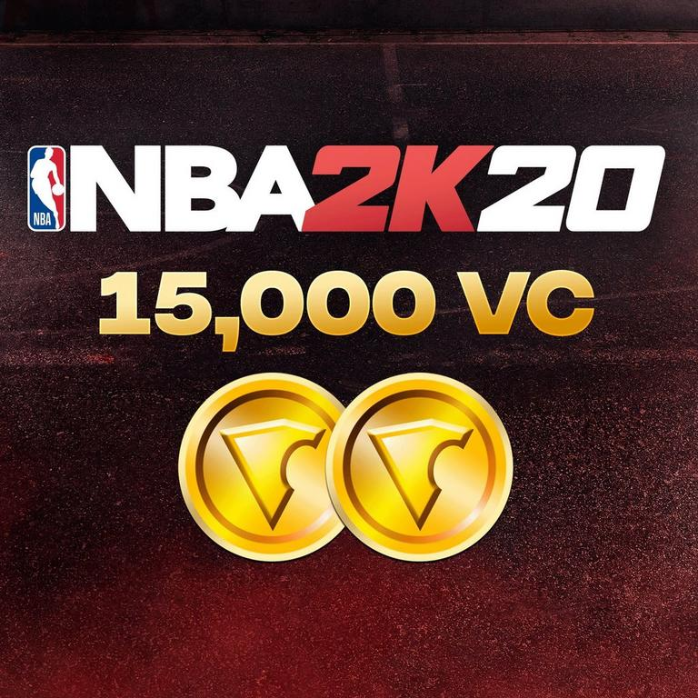 NBA 2K20 15,000 Virtual Currency