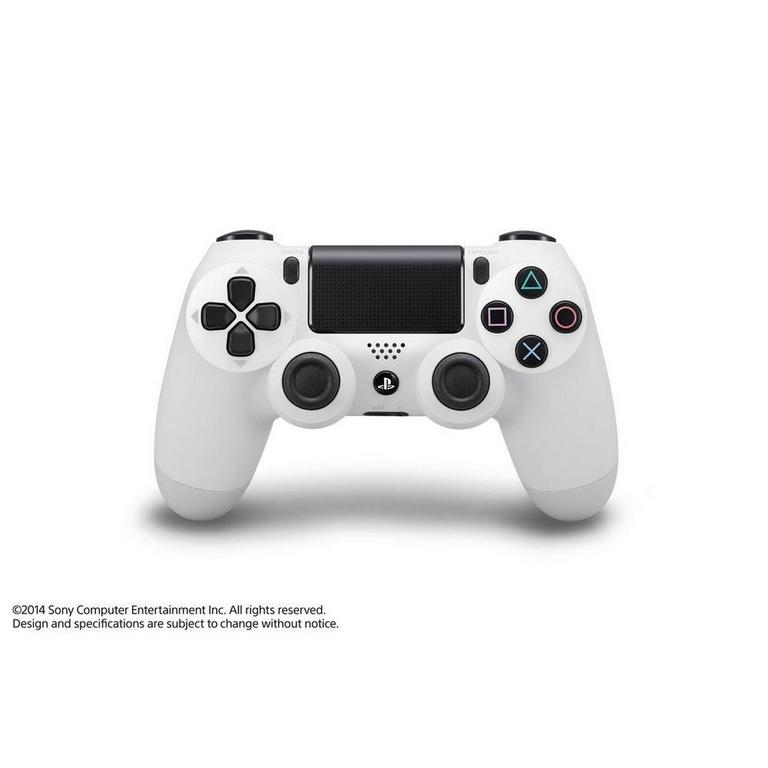 Sony DualShock 4 Wireless Controller for PlayStation 4 Glacier White