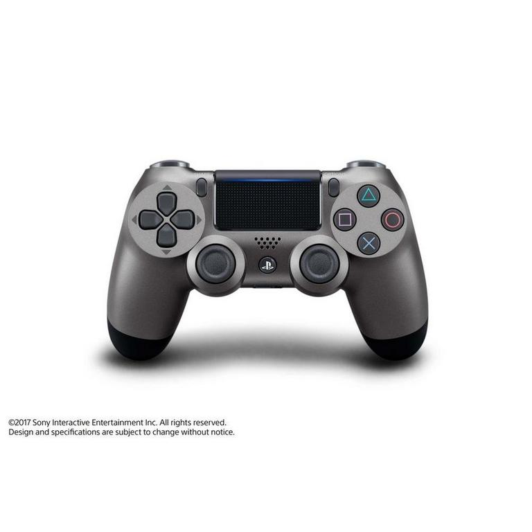 Sony DUALSHOCK 4 Steel Black Wireless Controller