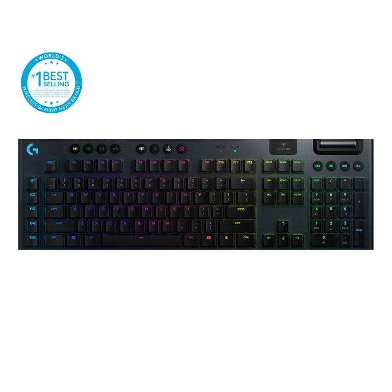 G915 Lightspeed RGB GL Clicky Switches Wireless Mechanical Gaming Keyboard