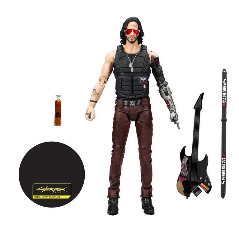 Cyberpunk 2077 Johnny Silverhand Action Figure