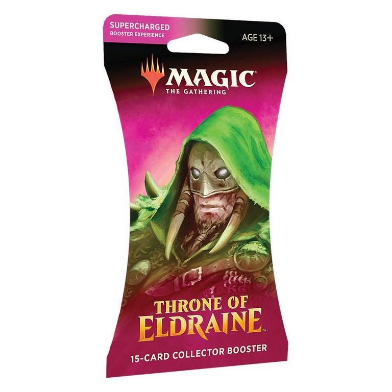 Magic: The Gathering Throne of Eldraine Collector Booster Pack