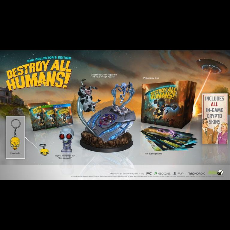 Destroy All Humans! DNA Collector's Edition