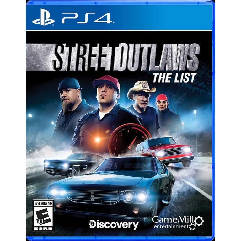 Game Mill Street Outlaws: The List PS4 Available At GameStop Now!