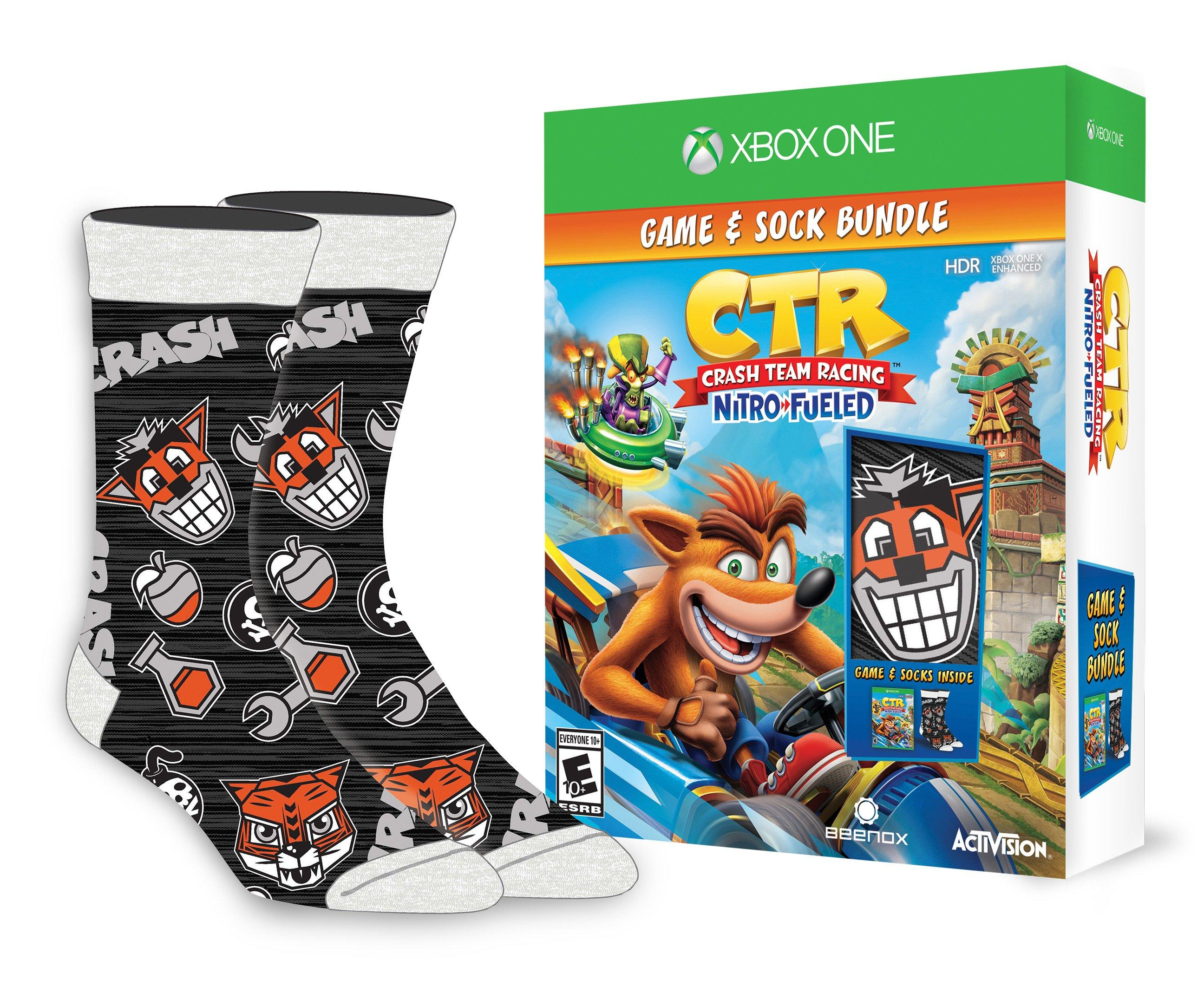 Crash Team Racing Nitro-Fueled Sock Bundle - Xbox One | Xbox One | GameStop